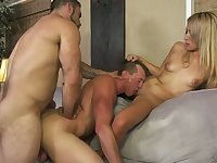Dude certainly enjoys a bum fuck and he loves having a 3some with Alexa Raye
