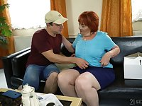 Chubby mature ugly whore Marsha actually loves some mish fuck