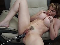 Sexy blonde Dana Dearmond likes sex toys more than anything else