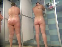 Real voyeur videos from  public showers