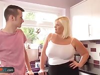 Agedlove grandmother plump Lacey plumb with Sam-