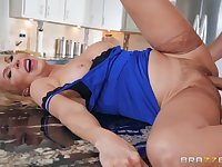 Cock loving mature blonde fucked in the ass